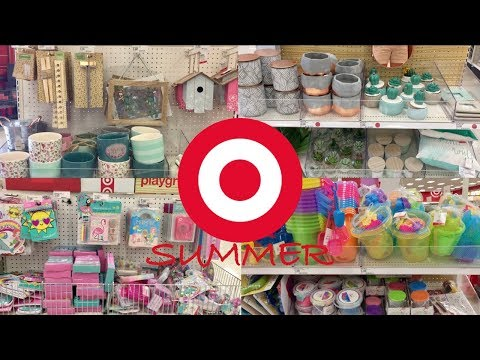 Target Dollar Spot Shop With Me - Summer!!  You're My Only Shopping Buddy.