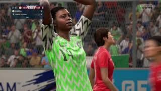NIGERIA COREE DU SUD CDM FEMININES GROUPE A