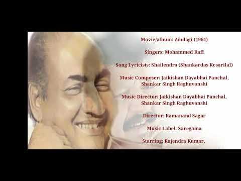 Tribute To Mohamed Rafi Shab, Humne Jafa Na.....HD Creation