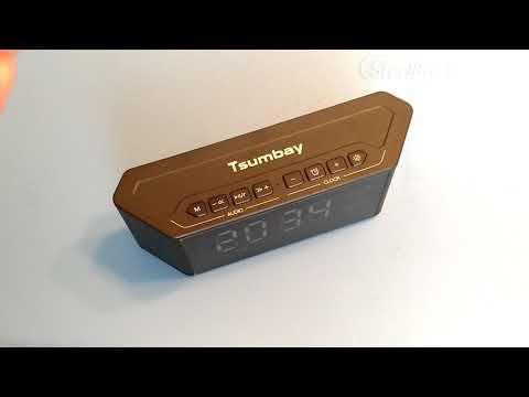 tsumbay-bluetooth-speaker-/-clock-/-alarm-review