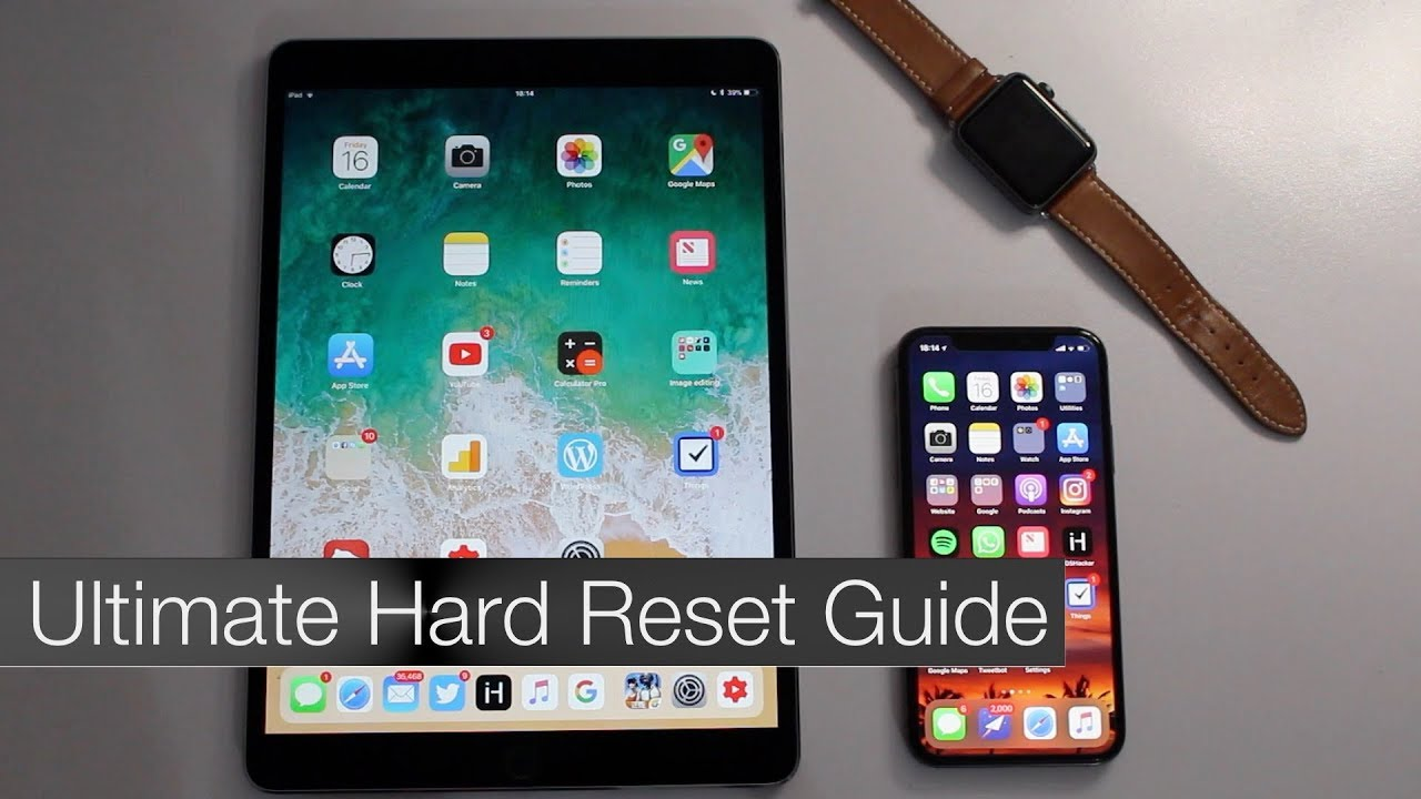 Ultimate Hard Reset iPhone, iPad or iPod touch Guide For