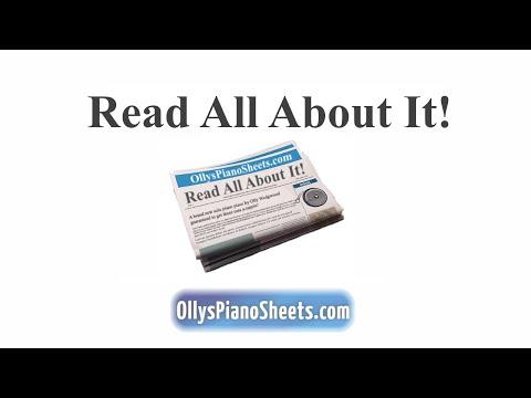 Bluegrass Piano Sheet Music -