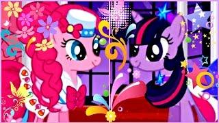 Май Литл Пони Мультики для девочек Мой маленький пони Вечеринка Пинки Пай #пони Игра Бал для пони