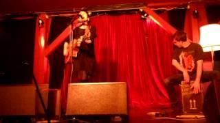"""Maike Rosa Vogel 21.02.2013 LIVE im Waschhaus Potsdam """"Ich bin ein Hippie"""""""