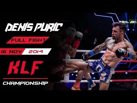 Kickboxing: Denis Puric Vs. Alateng Heili FULL FIGHT-2015