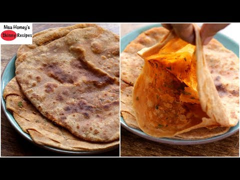 namak-mirchi-ka-paratha-recipe-(rajasthan-special)---bachelor-/-pg-cooking---dinner-in-10-minutes