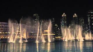 Enrique Iglesias - Dubai Fountain Show Spanish