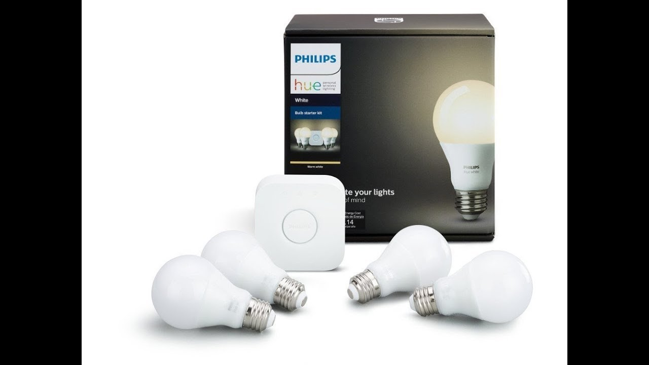 Philips Hue Starter Kit E27 Review Philips Hue White Smart Bulb Starter Kit