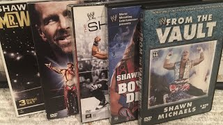 WWE Shawn Michaels DVD Collection Review