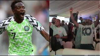 Nigeria Vs Iceland | See How Nigerians Reacted To World Cup Win