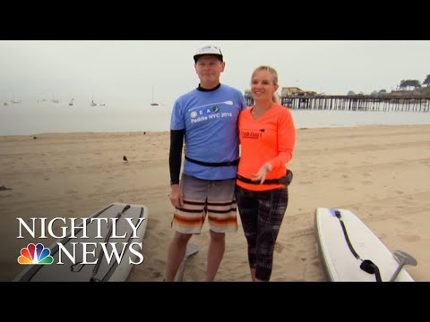 Love Story Starts With A CPR Kiss | NBC Nightly News