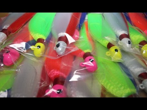 Flair Hawk Jig Color Selection ft. Tom Lewis (Tackle Tuesday #7 )