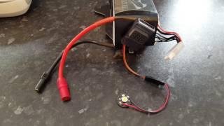 dji a3 additional battery warning led