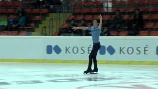2015 ISU Jr. Grand Prix - Linz Men Free Skate Roman GALAY FIN