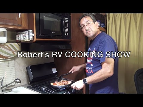 Robert's RV Cooking Show: Garbanzos Fritos