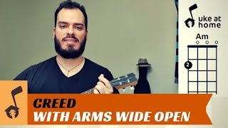 Creed - With Arms Wide Open | Ukulele tutorial