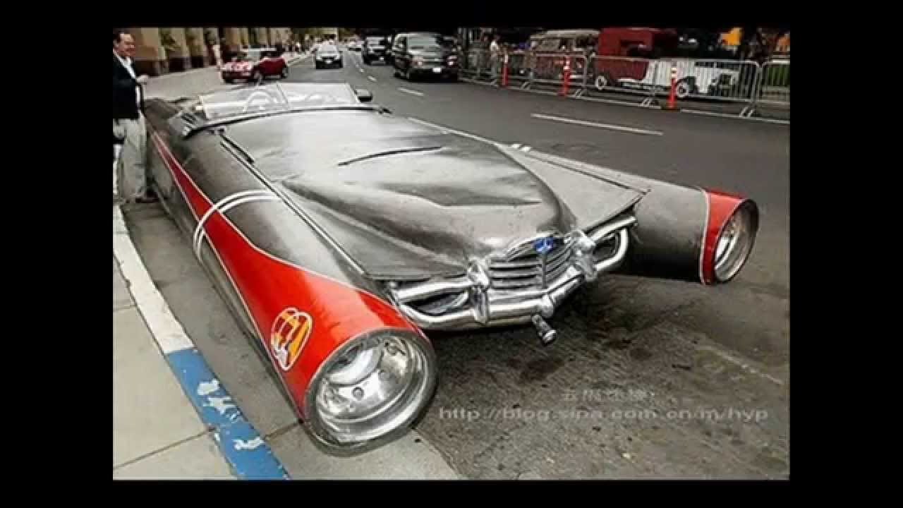 Strange Modified Cars | Strange Futuristic Cars | Weirdest Cars In ...