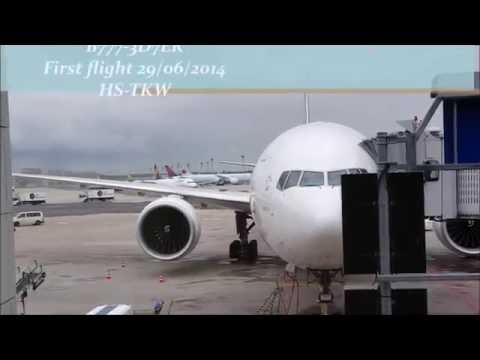 Thai Airways | B777-3D7ER | Frankfurt-Bangkok | *Full flight*
