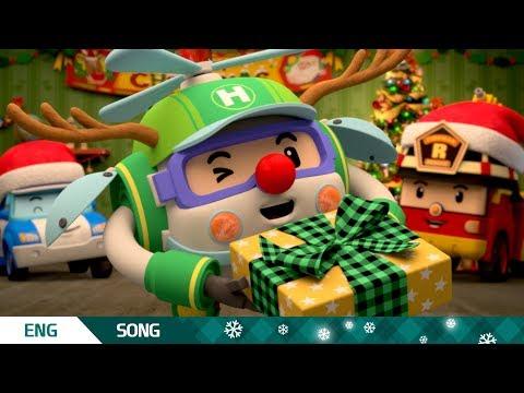 🎄 Christmas 🤶│🎶 We Wish You A Merry Christmas 🎅│ MV │Robocar POLI TV