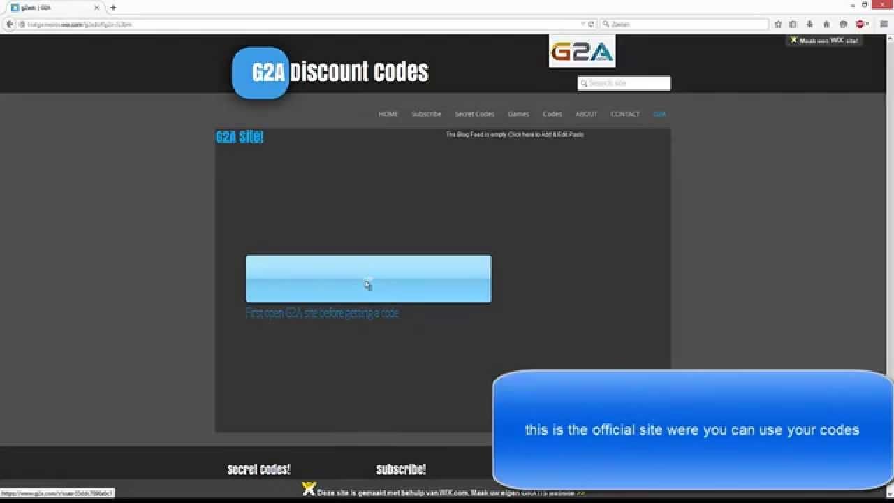 G2a coupon code 5