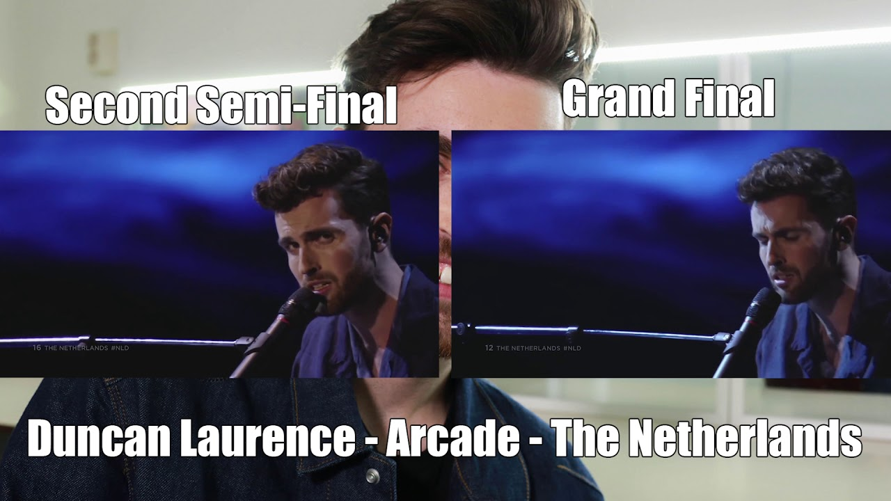 Duncan Laurence - Arcade/ Comparison of the second semi-final and Grand Final