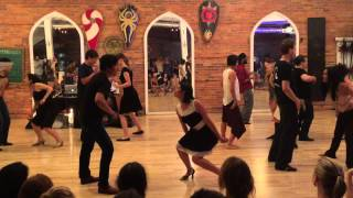 "Dexter Santos ""What Will Lucy Do"" (Frankie Lee Sims) Blues Dance choreography for Blues Elation 2015"