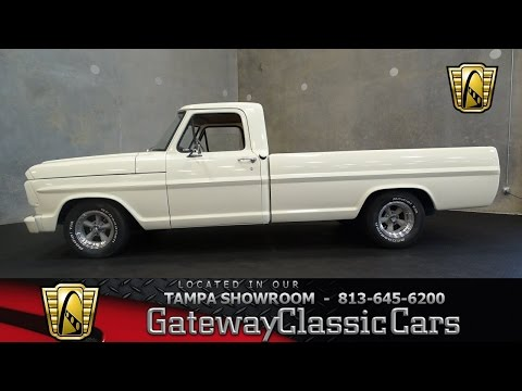 Stock #658 TPA 1969 Ford F100 240 CID 6 Cylinder 3 Speed Manual