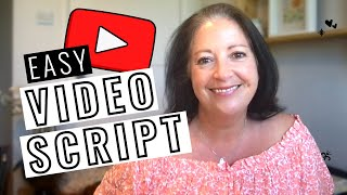 How to Write a Video Script for YouTube (plus FREE template!) ⭐️