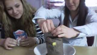 Sopka (Jedlá soda+ocet)
