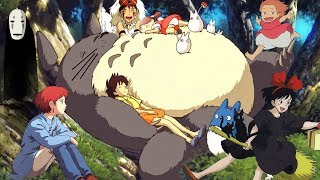 1 Hour Studio Ghibli Lofi Hip Hop Mix