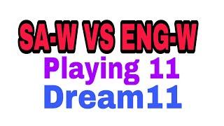 SA-W  VS ENG-W Dream11 Women's world cup 2017