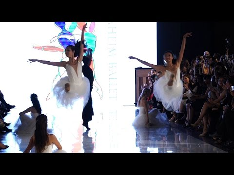 Anaheim Ballet at LA Fashion Week!