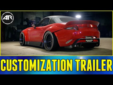 Need For Speed Trailer : CAR CUSTOMIZATION TRAILER!!! (NFS 2015 Customization Breakdown)