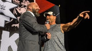 Triple H & Shawn Michaels surprise the NXT UK Universe in England
