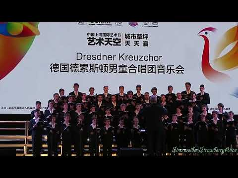 【Strawberry Alice】2017 China Shanghai International Arts Festival:  Dresdner Kreuzchor, 20/10/2017.