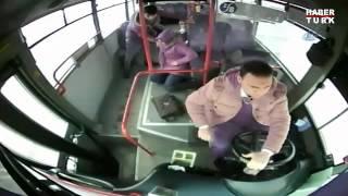 Kahraman otobüs şoförü
