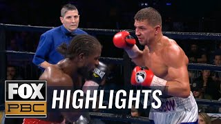 Korobov & Aleem ends in a controversial decision, Barrios KO's Velasco | HIGHLIGHTS | PBC ON FOX
