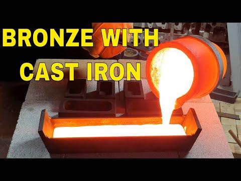 How To Make Cast Iron Bronze - Bronze With Cast Iron