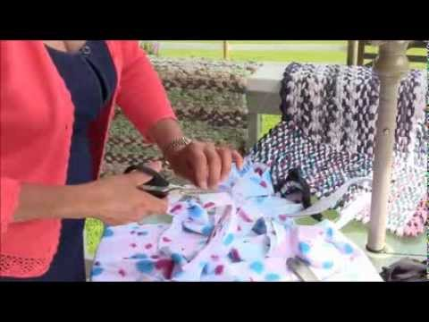 Rag rug Weaving - Part 4 - Splicing Yarn