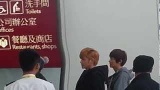 121201 EXO @ Hong Kong Airport
