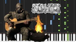S.T.A.L.K.E.R. - Clear Sky Bandit Radio Чики-брики! И в дамки! на пианино (кавер + урок)