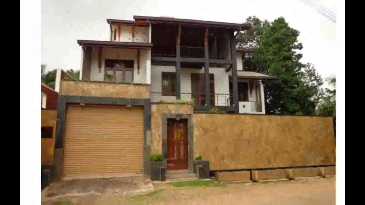 Modern house design in sri lanka youtube for Home design in sri lanka