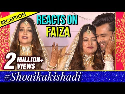 Dipika Reacts On Her New Name Faiza | Shoika Reception Party | Full Interview