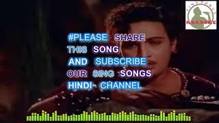 Wo Jab Yaad Aaye Hindi karaoke for Male singers with lyrics