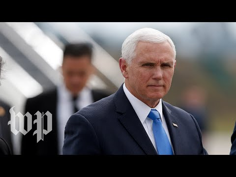 Pence speaks at Lima Group meeting in Colombia