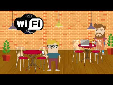 Solution hotspot WiFi / Social Hotspot,  bar, restaurant, camping, hôtel, entreprise,... CloudSpot