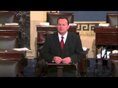 "Sen Mike Lee Farm Bill vs America - How Congress ""Extorts Political Concessions"" from America"