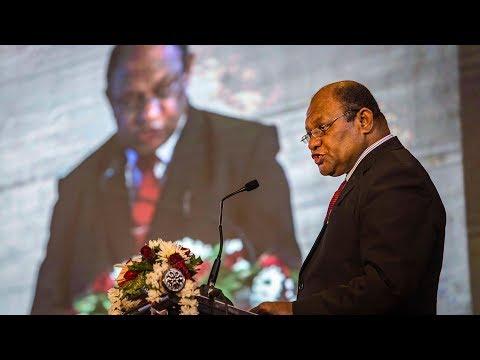 Osea Naiqamu on Fiji's forests and the SDGs - #APRS2018