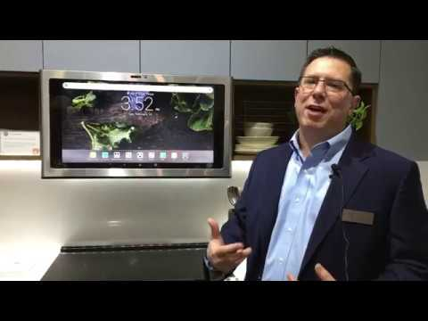 GE Appliances Launches Kitchen Hub Smart Home Command Center at IBS 2019