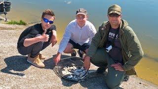 Рыбалка с сыном! Ловим рыбу и Глебус входит во вкус! :) Подготовка к рыбалке на фидер!